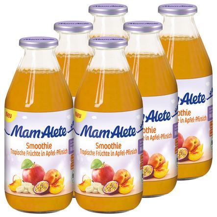 MamAlete Smoothie Tropische Früchte in Apfel 6 x 200 ml
