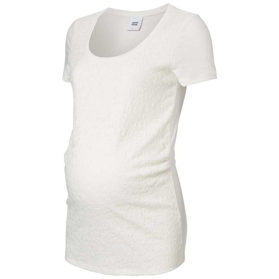 Mama licious těhotenské tričko MLNEW SICA modrá