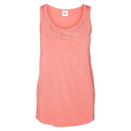 MAMA LICIOUS Umstands Shirt MLMIA NELL rose