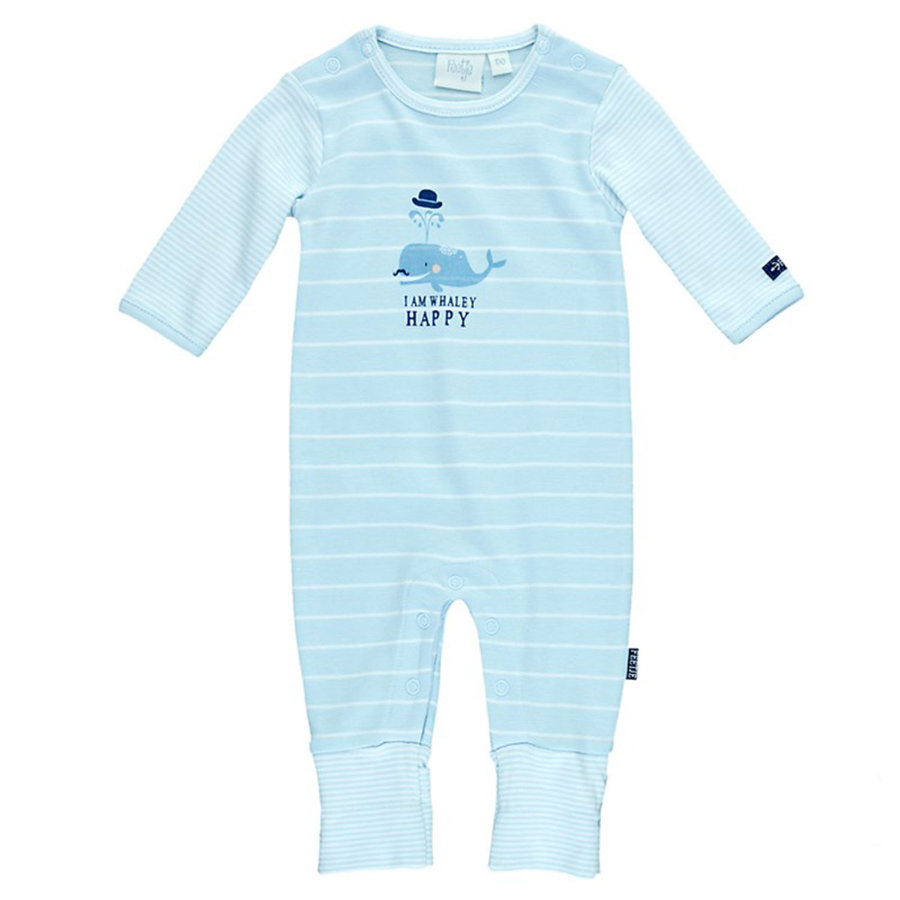 FEETJE Baby Slaapoverall lichtblauw