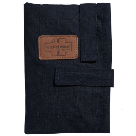 HOPPEDIZ Wickelmax Hoitoalusta, Dark Denim