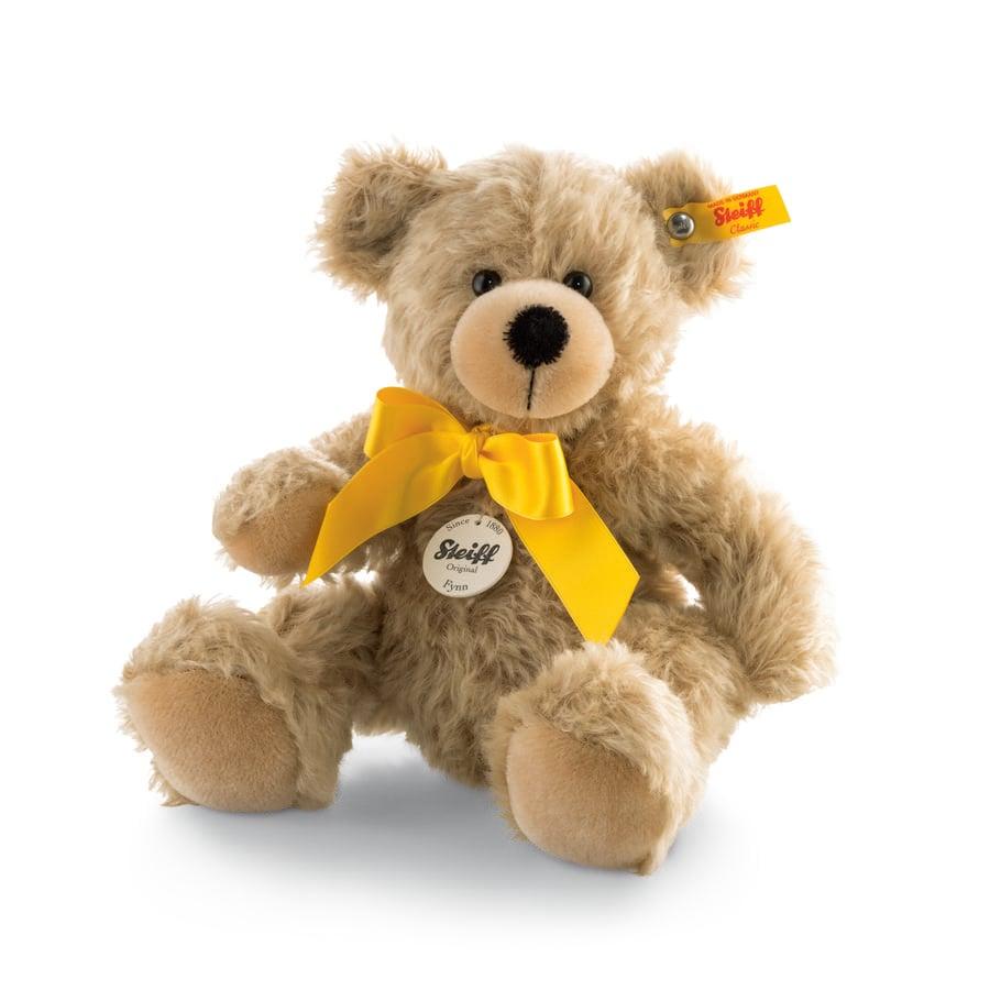 Steiff Teddybjörn Fynn 28 cm, ljusbeige