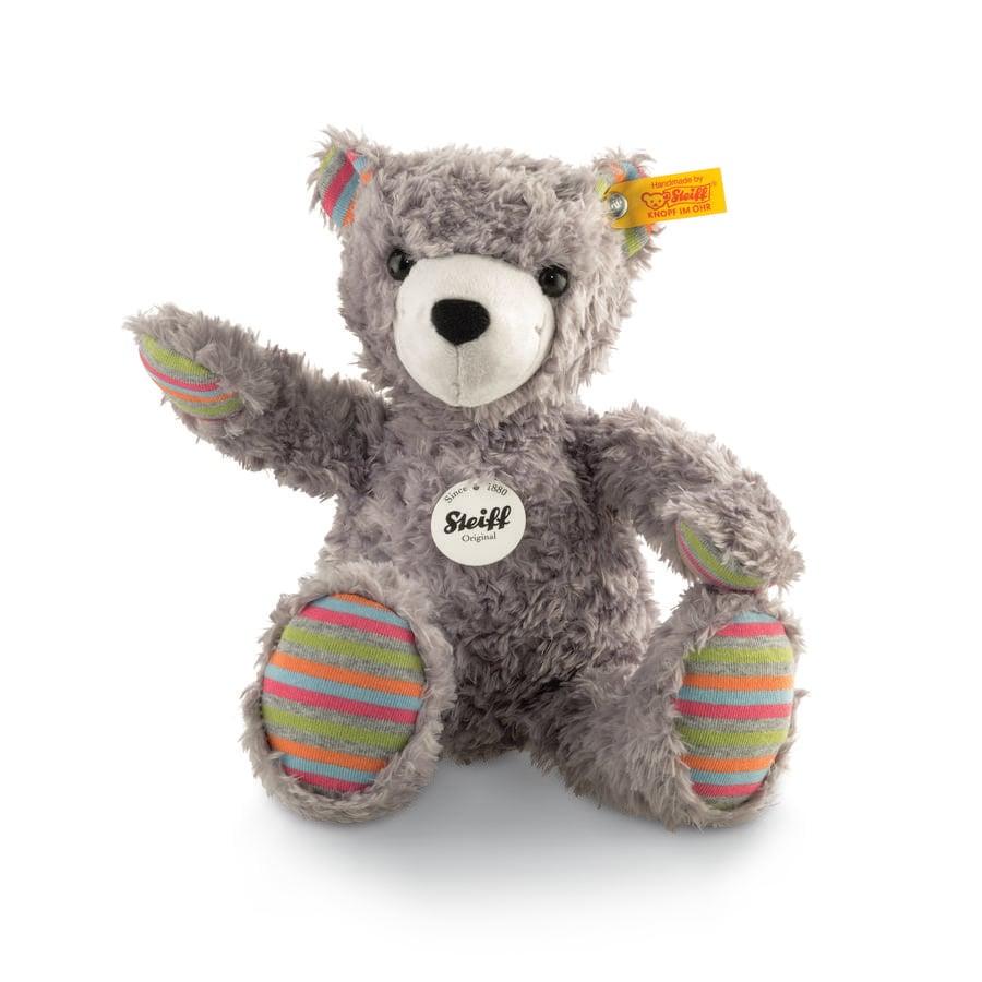 Steiff Medvídek Lucky šedý, 27 cm