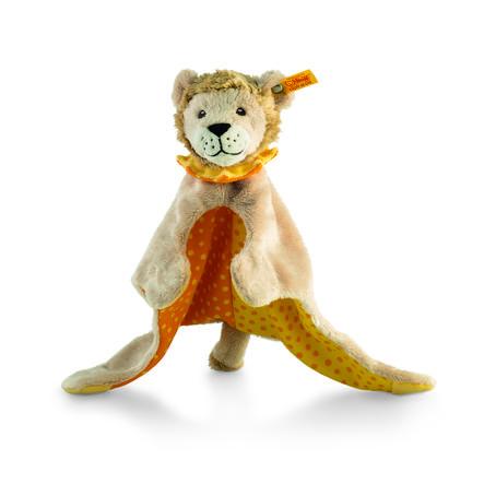 Steiff koseklut Leon løve beige / gul / oransje, 28 cm