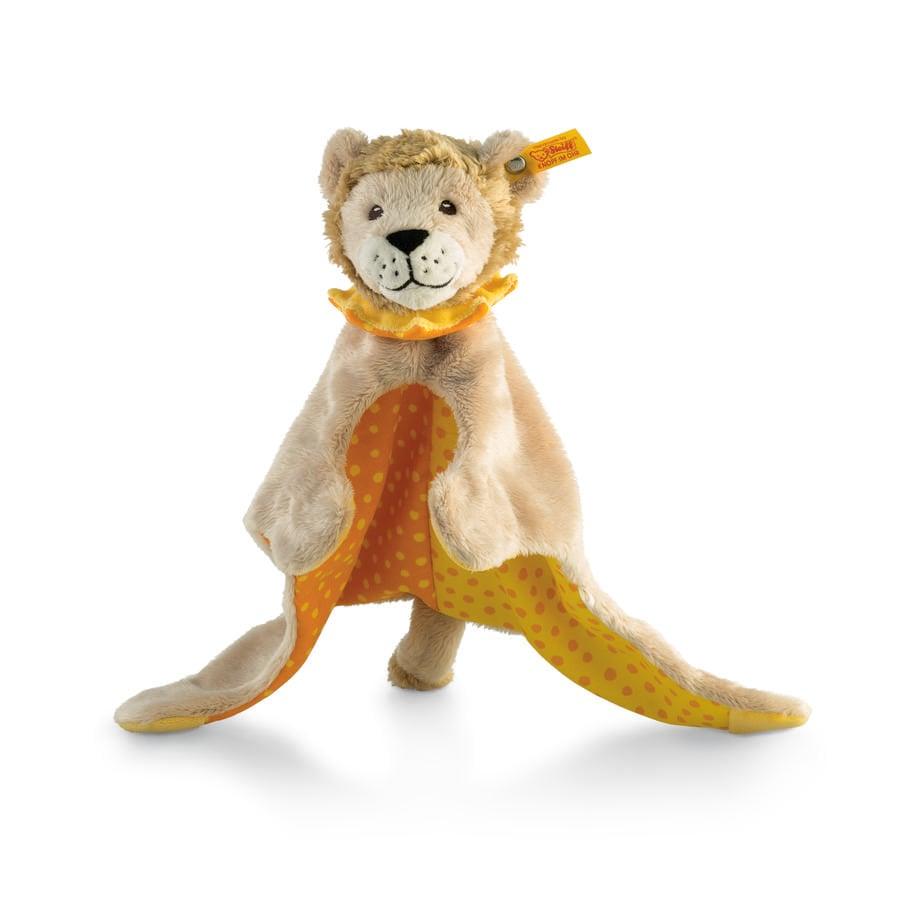 Steiff Knuffeldoek Leon Leeuw beige/geel/oranje, 28 cm