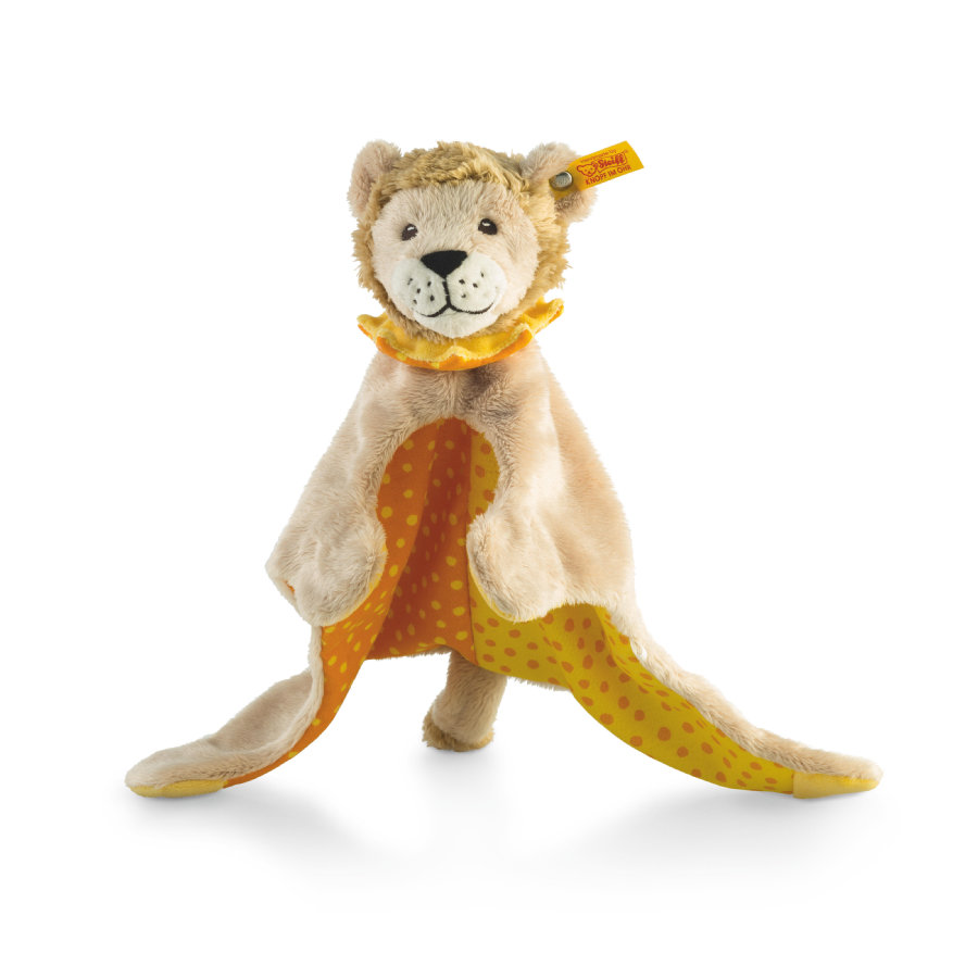 Steiff Snuttefilt Lejonet Leon beige/gul/orange, 28 cm