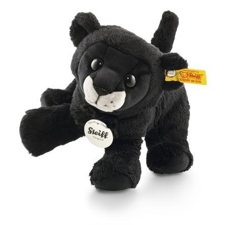 Steiff Maskotka Pantera Paddy 17 cm, siedząca, kolor czarny