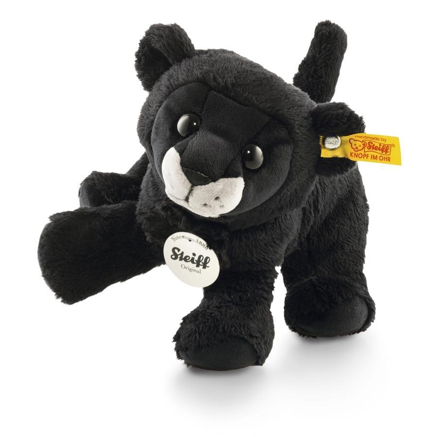 Steiff Paddy Panther schwarz, sitzend 17 cm