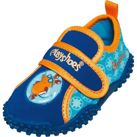 Playshoes Protezione dai raggi UV Aqua Shoe The Mouse navy