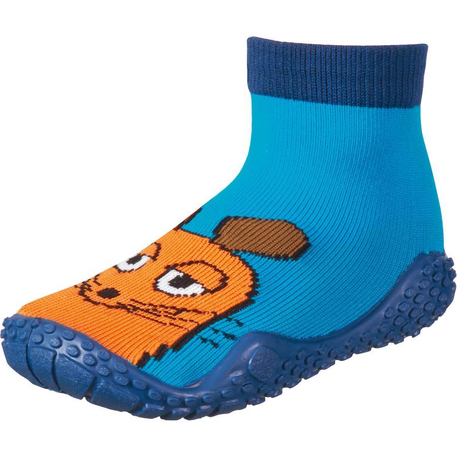 Playshoes Aqua-Socke Die Maus marine