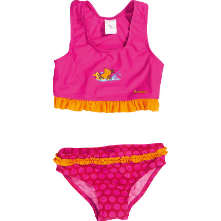 Playshoes Bikini enfant, protection UV, La Souris, rose