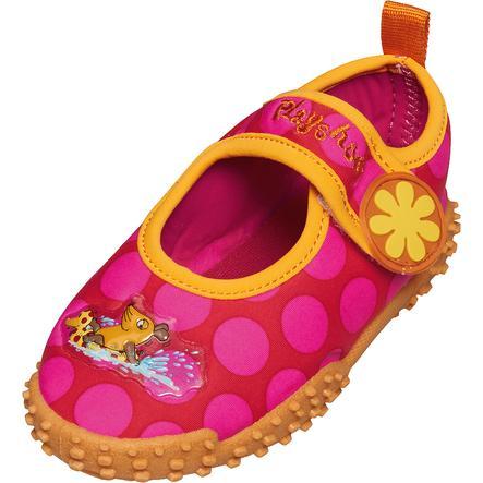 Playshoes UV-skydd Auqua Sko Musen rosa