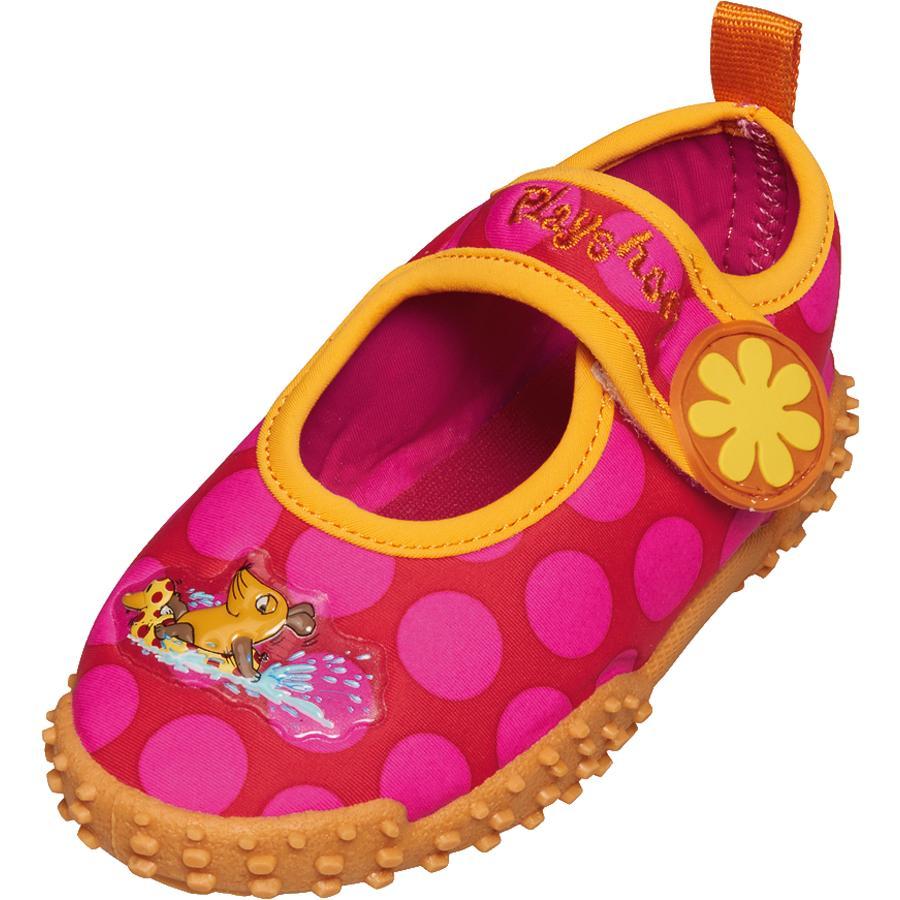 Playshoes UV Aqua boty myš pink