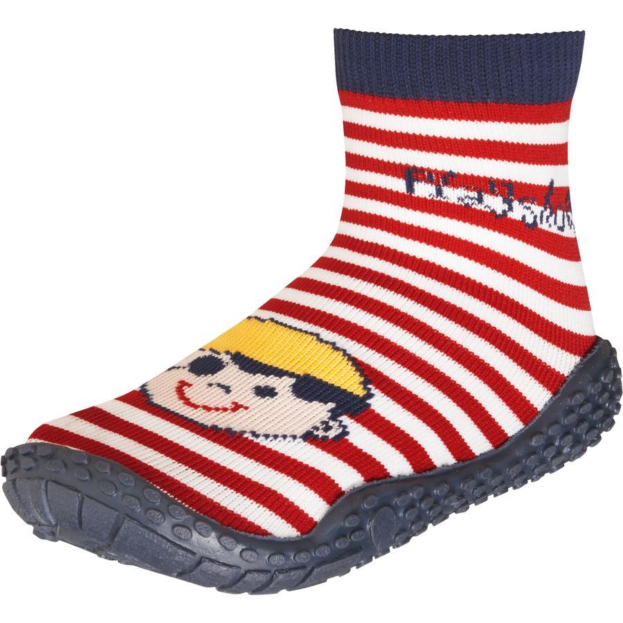 PLAYSHOES Boys Aqua ponožky pirát tmavě modré