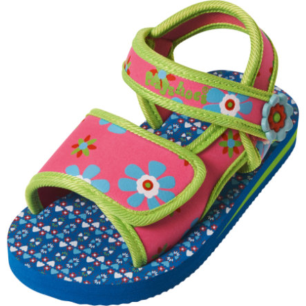 PLAYSHOES Girls Water-sandalen EVA bloemen pink