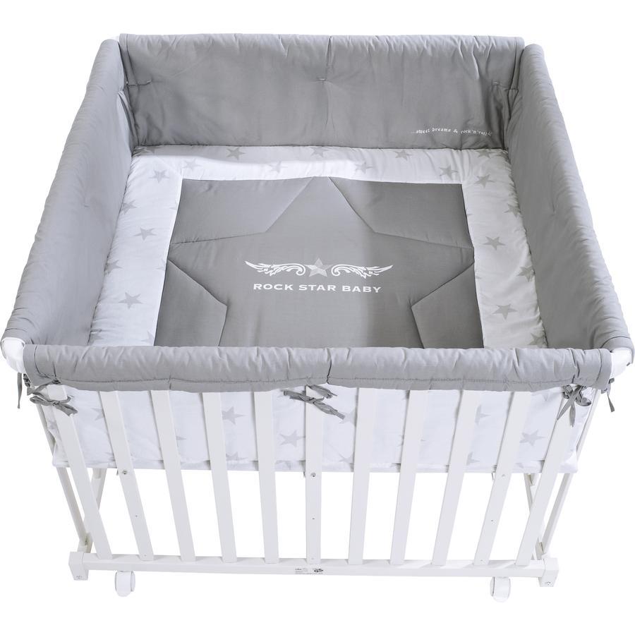 roba Parc Rock Star Baby, 100 x 100 cm, blanc
