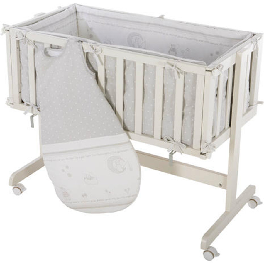 roba Lettino co-sleeping Room & Cradle Angelo della fortuna grigio