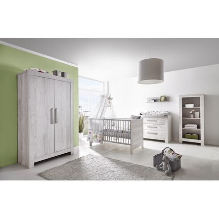 schardt set cameretta per neonato nordic cascina (armadio a 2 ante