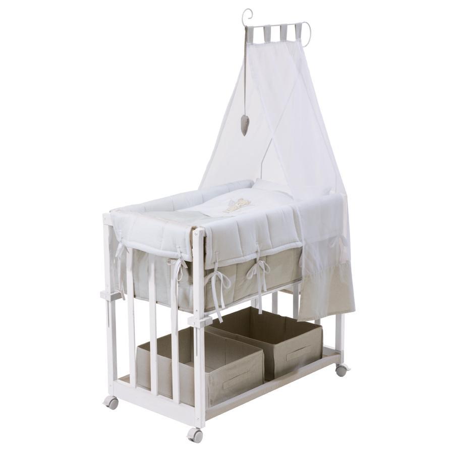 roba berceau heartbreaker 4 en 1 blanc. Black Bedroom Furniture Sets. Home Design Ideas