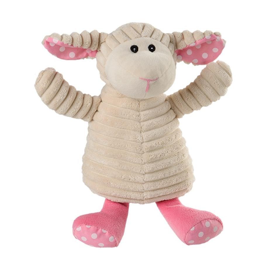 Warmies® Wärmestofftier Pure Schaf Pünktchen pink