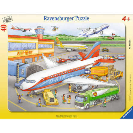RAVENSBURGER 40 Piece Little Airport Puzzle