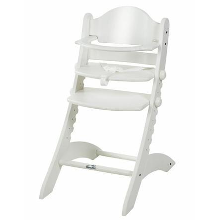 geuther Chaise haute bébé Swing bois blanc