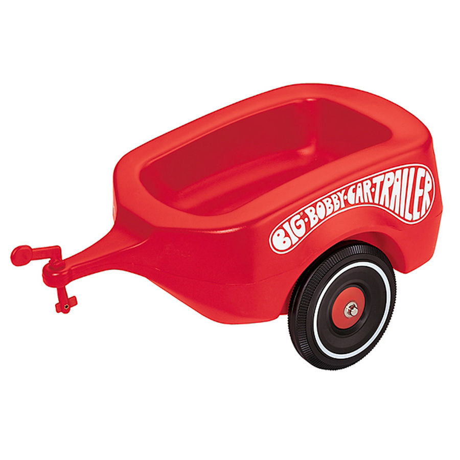 BIG Bobby Car Remorque Trailer Classic rouge