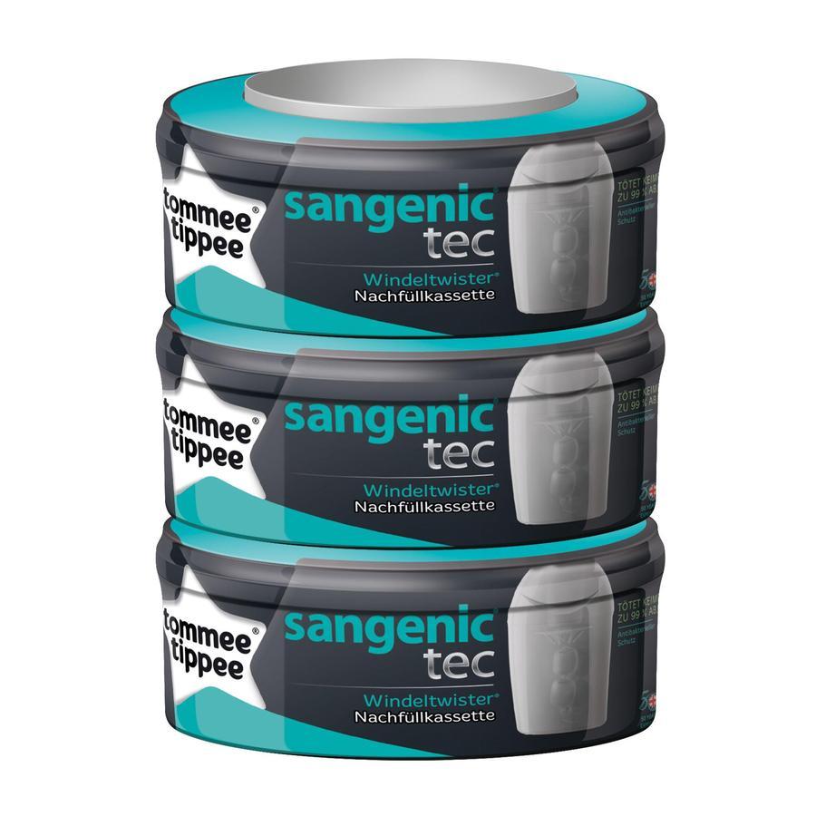 SANGENIC Recharges universelles TEC, pack de 3