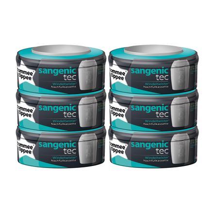 SANGENIC Navulcassettes TEC 6-pack