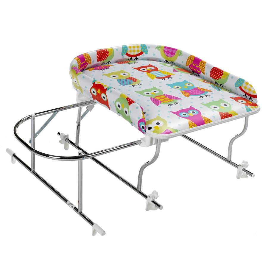 GEUTHER Combi Table à langer / Bain VARIX, Hiboux 031