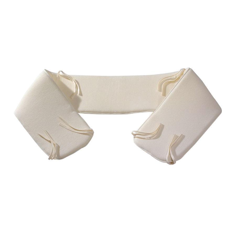 Easy Baby Ochraniacz do łóżeczka kolor jasnobrązowy (353-03)