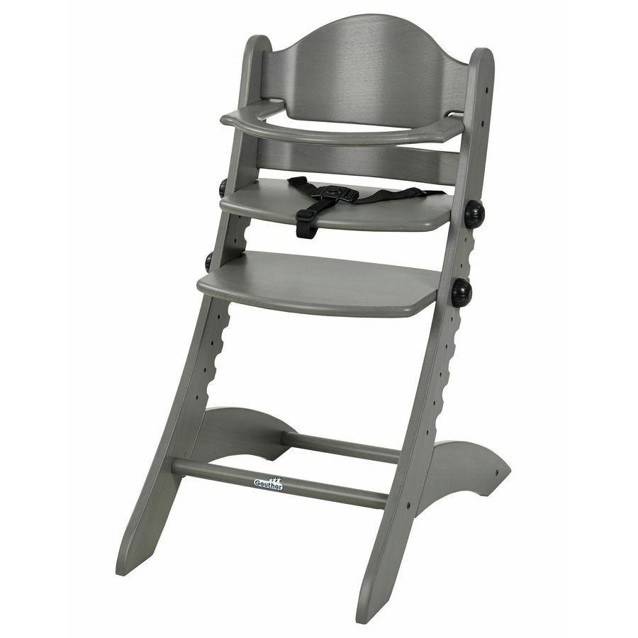 Geuther Jídelní židlička Swing šedá