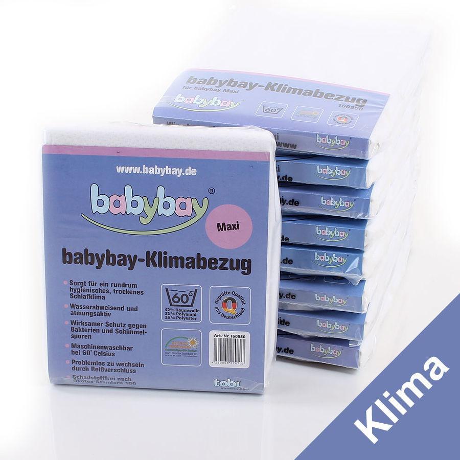 Babybay Housse maxi Klima, 89 x 50 cm