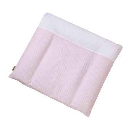EASY BABY Aankleedkussen, Vichy roze (440-51)