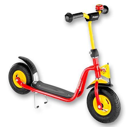PUKY Monopattino R03 L con ruote in schiuma, rosso 5113
