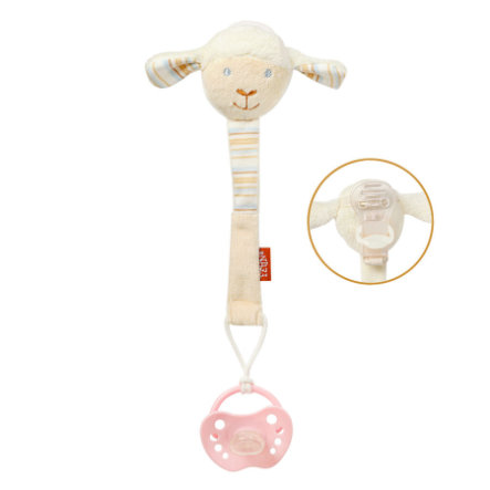 fehn® Schnullerkette Baby Love Paul
