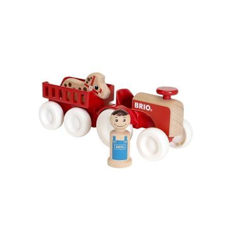 BRIO Traktor z przyczepą i konikiem 30265