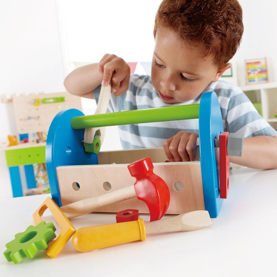 hape werkzeugkasten 14tlg. - babymarkt.de