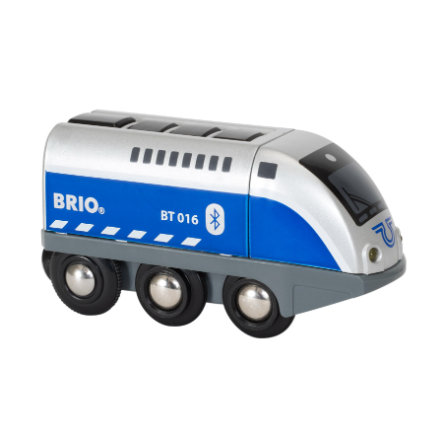BRIO® Locomotiva a batteria Oskar con comando tramite APP 33863