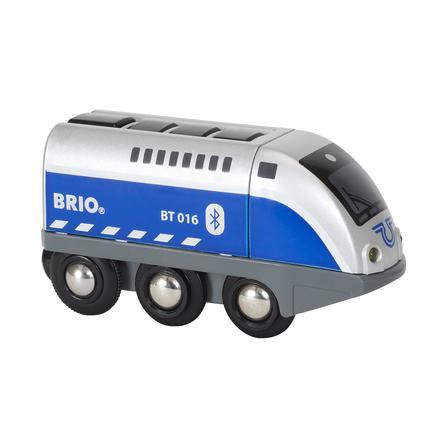 BRIO Locomotive Oscar, commandée par appli, bleue 33863