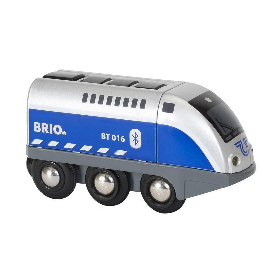 BRIO® WORLD Batterielok Blauer Oskar mit APP Steuerung 33863