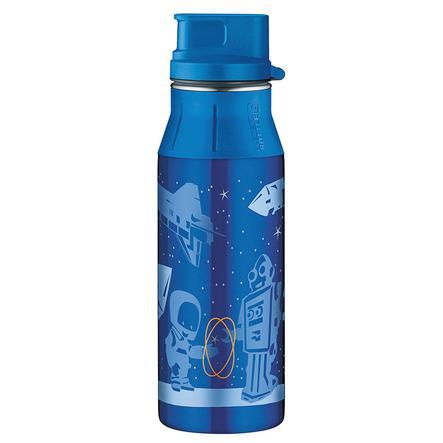 ALFI Hydratační láhev na pití s uzávěrem SPACE ROBOTS 0,6 l