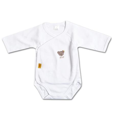 STEIFF Long Sleeved Baby Bodysuit white