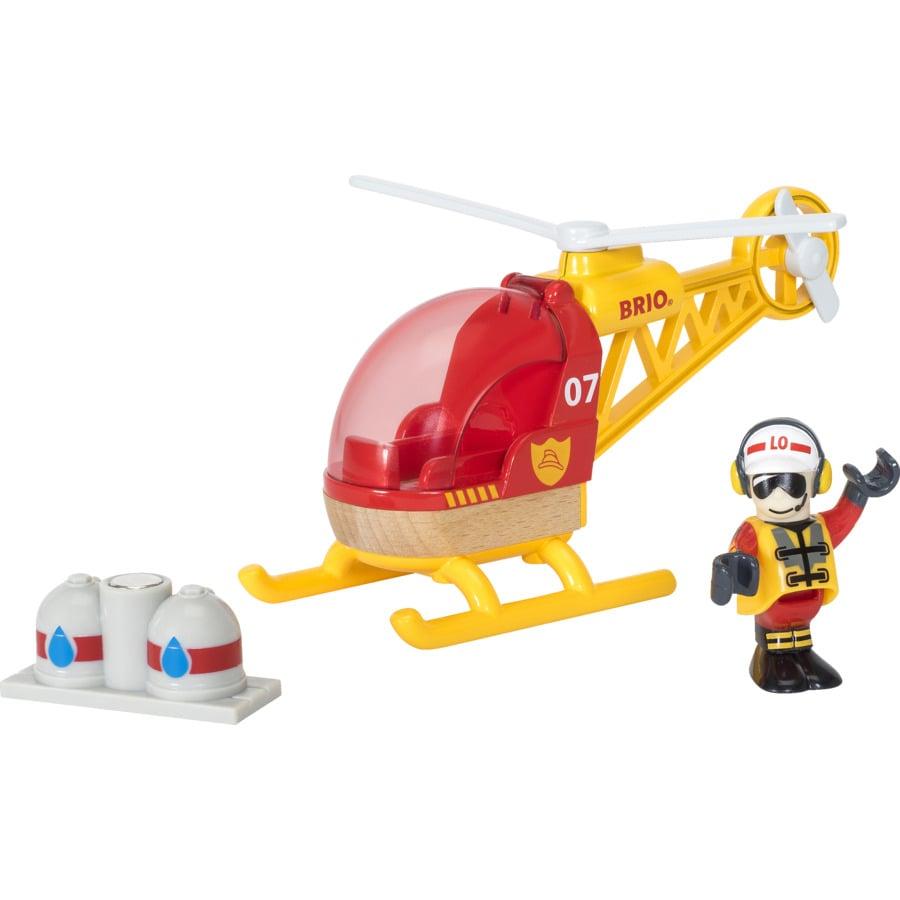 BRIO® WORLD Hasičský vrtulník 33797