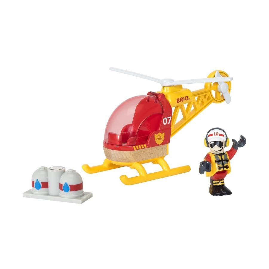 BRIO® WORLD Hélicoptère des pompiers 33797