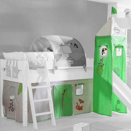 relita stoffset f r hochbetten mit turm dschungel. Black Bedroom Furniture Sets. Home Design Ideas