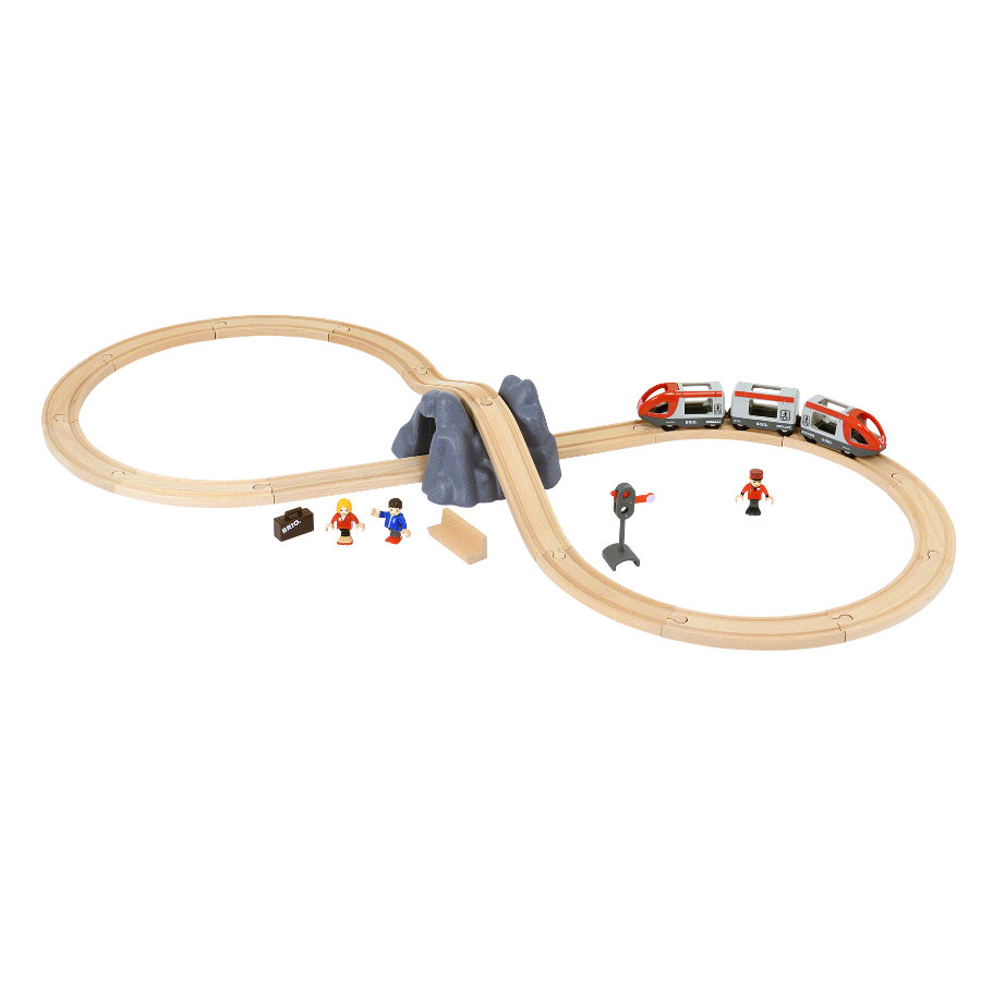 BRIO® WORLD Eisenbahn Starter Set A 33773 -