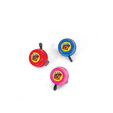 PUKY bezpečnostní zvonek G22 růžový na tříkolky, jízdní kola, koloběžky