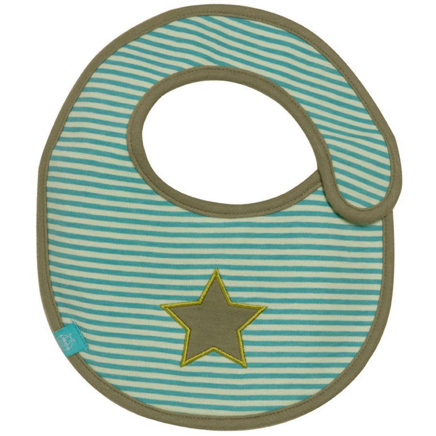 LÄSSIG Lätzchen small Starlight Oliv