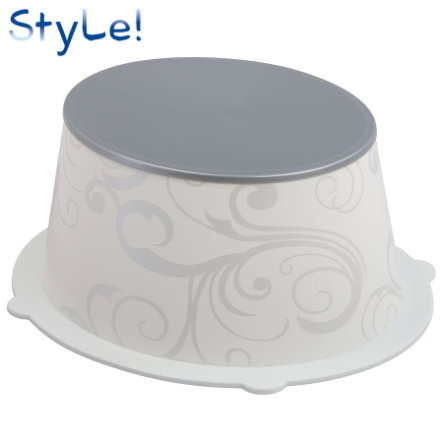 ROTHO STyLE! Children's Stool Vintage white